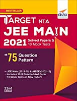TARGET NTA JEE Main 2021 Solved Papers & 10 Mock Tests on 75 Question Pattern 22nd Edition