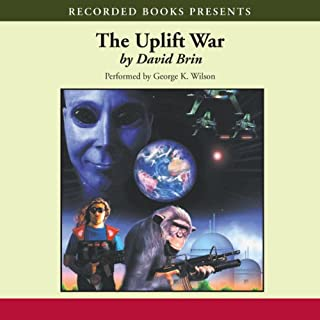 The Uplift War audiobook cover art