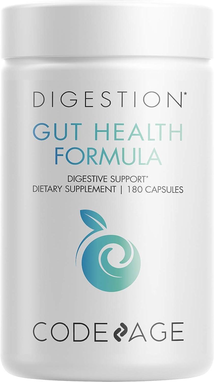 Codeage Gut Health Supplements Vegan L Zinc Max Nippon regular agency 85% OFF Formula Glutamine -