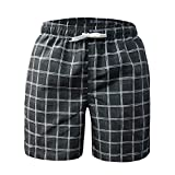 Freetrack Mens Swim Trunks Quick Dry Beach Board Short Swimming Trunks for Men Casual Shorts Bathing Suits Swimwear with Mesh Lining & Pockets