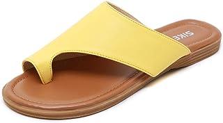 BaiMoJia Sandali Donna Piatti Confortevole Casual Sandali Scarpe Estivi da Spiaggia Vacanza Pantofole