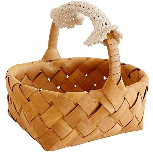 OH Christmas Collection Gift Hamper Halloween Gift Basket Outdoor Picnic Basket Supermarket Shopping Basket Handle Basket Restaurant Storage Basket Bread Basket Hamper Storage Baske