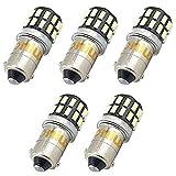 Bonlux 5-packs 3W 12-24V BA9 BA9s LED Luz H21W 1445 1895 6253 64111...