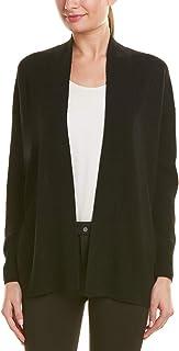 Vince Womens Dropped-Shoulder Wool & Cashmere-Blend Cardigan, M, Black