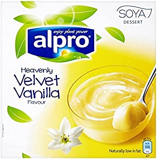 Alpro Vanilla Soya Dessert - 4 x 125g
