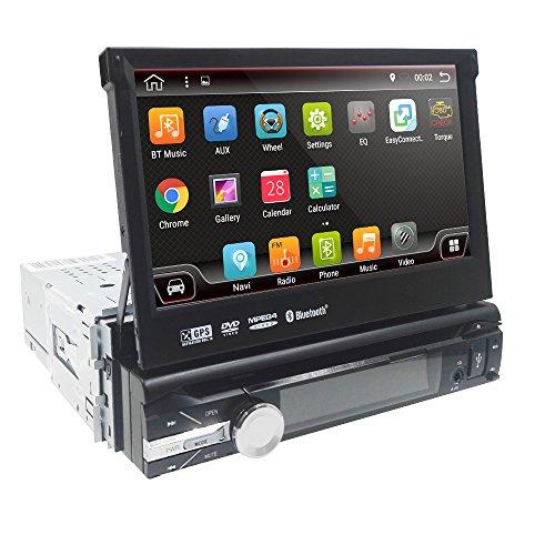 Android 9.0 universele radio 1 Din autoradio 7 inch GPS auto navigator 2G RAM 32G ROM ondersteuning touchscreen wifi Bluetooth spiegel link stuurwielbesturing RDS subwoofer achteruitrijcamera DAB+ DVR