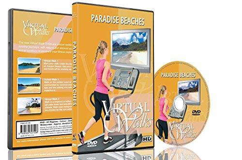 Virtuelle Spaziergänge - Paradiesische Strände für Innen-Walking, Laufband und Radfahren