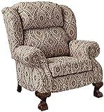 Lane Home Furnishings 6512-11 Ashton Hi Leg Recliner, Mocha
