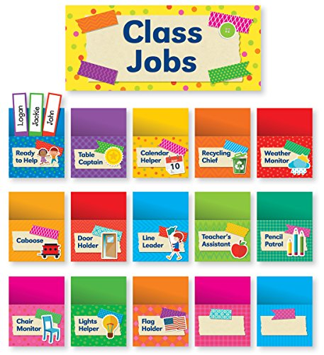 Tape It Up!: Class Jobs Bulletin Board