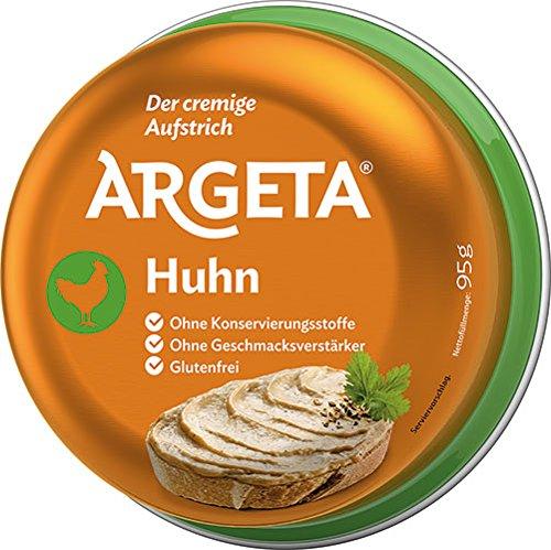 12x Argeta - Huhn, Aufstrich - 95g
