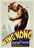 "Locandina stampata del film 'King Kong"", dimensioni approssimative: 30 x 20 cm, in lingua inglese"