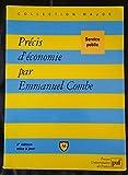 Précis d'économie - Presses Universitaires de France - PUF - 01/01/1998