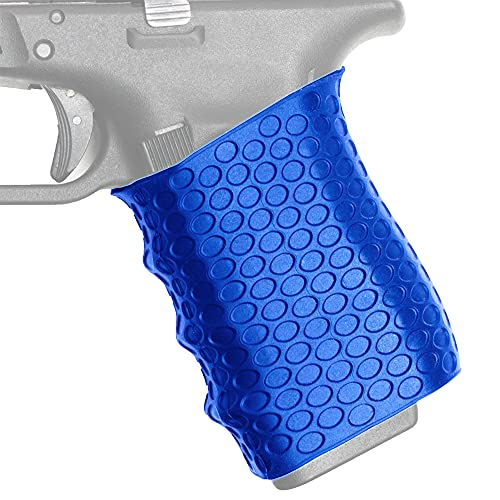 Stekos Rubber Gun Grip – Professional-Grade Tactical Grip – Durable and Flexible Rubber Vertical Grip – Universal Fit and Easy Installation (Blue)