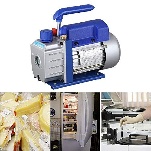 Fetcoi 1/4 HP 2,5 CFM - Compresor de vacío (180 W, bomba de vacío, 220 V, 1440 rpm)