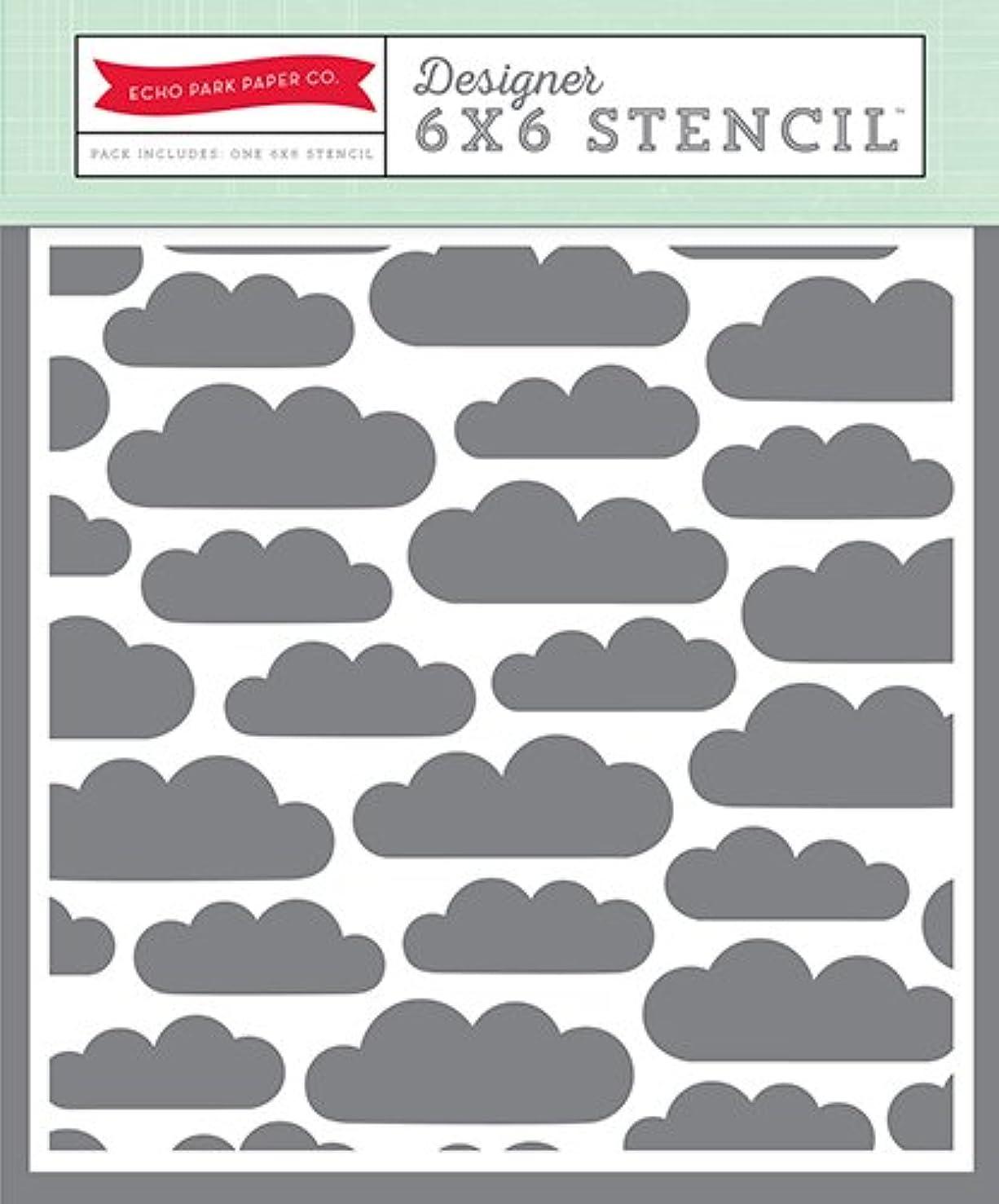 Echo Park Paper Company Clouds Stencil
