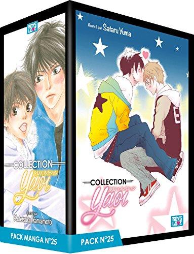 Pack Boy's Love - Partie 25 - 5 Mangas (Livres) - Yaoi