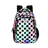 Genie Iridescence 27 litres Multicolor School Backpack (17 inch, Water Resistant)