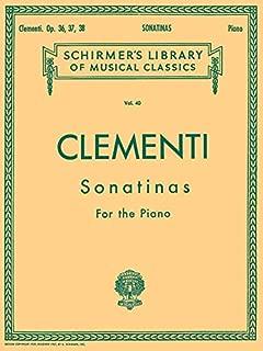 Best clementi sonatinas op 36 37 38 Reviews