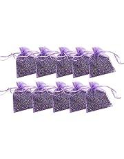 Freedomanoth 15 Bolsas Lavanda Sachet Natural Lavender Sachet Desodorante Sachet Bag para bolsitas Se Pueden Colocar en el automóvil, en el Armario