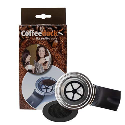 ohmtronixx Permanent Kaffeefilter nachfüllbar für Kaffeemaschinen Kaffeepadmaschinen, ersetzt Kaffeepads, geeignet für Senseo Classic HD7810, HD7812, HD7811, HD7804, HD7800, HD7814, HD7818, HD7816