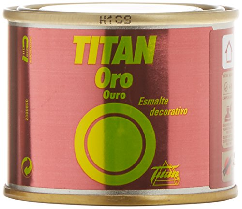 TITANLUX 302 - Esmalte decorativo, color Oro Amarillo, 50 ml