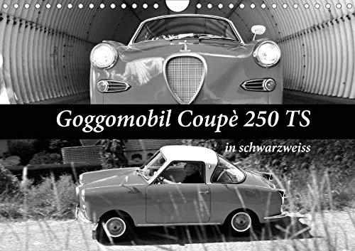 Goggomobil Coupè 250 TS in schwarzweiss (Wandkalender 2021 DIN A4 quer)