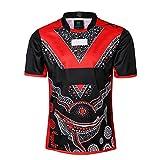Maillot De Rugby NFL St. George Football Jersey Casual Sports T-Shirt Polo en Plein Air Permettant Un Confort Et Respirabilité Coupe du Monde 2019,XXXL