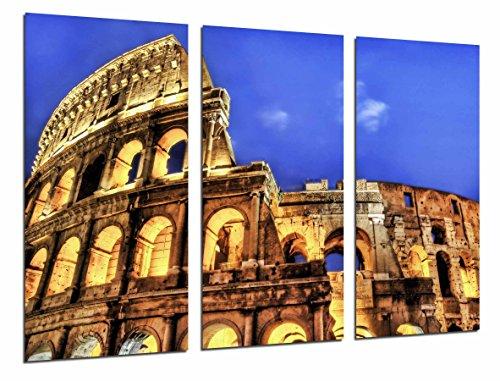 Cuadro Fotográfico Monumento Coliseo Anfiteatro Romano, Italia Tamaño total: 97 x 62 cm XXL