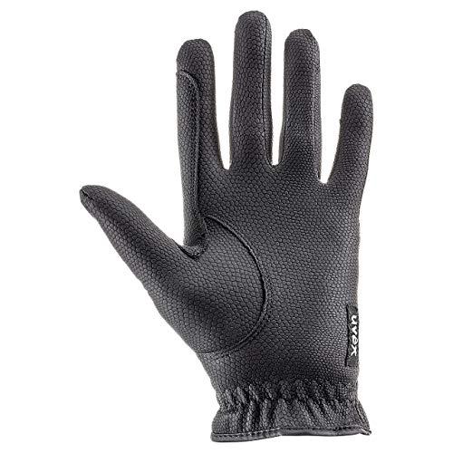 uvex Unisex– Erwachsene, sportstyle Reithandschuhe, black, 8.5