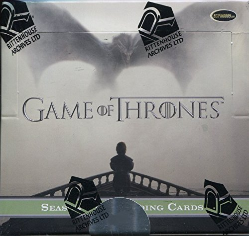 2016 Game of Thrones Season 5 Trading Cards Factory Sealed Box