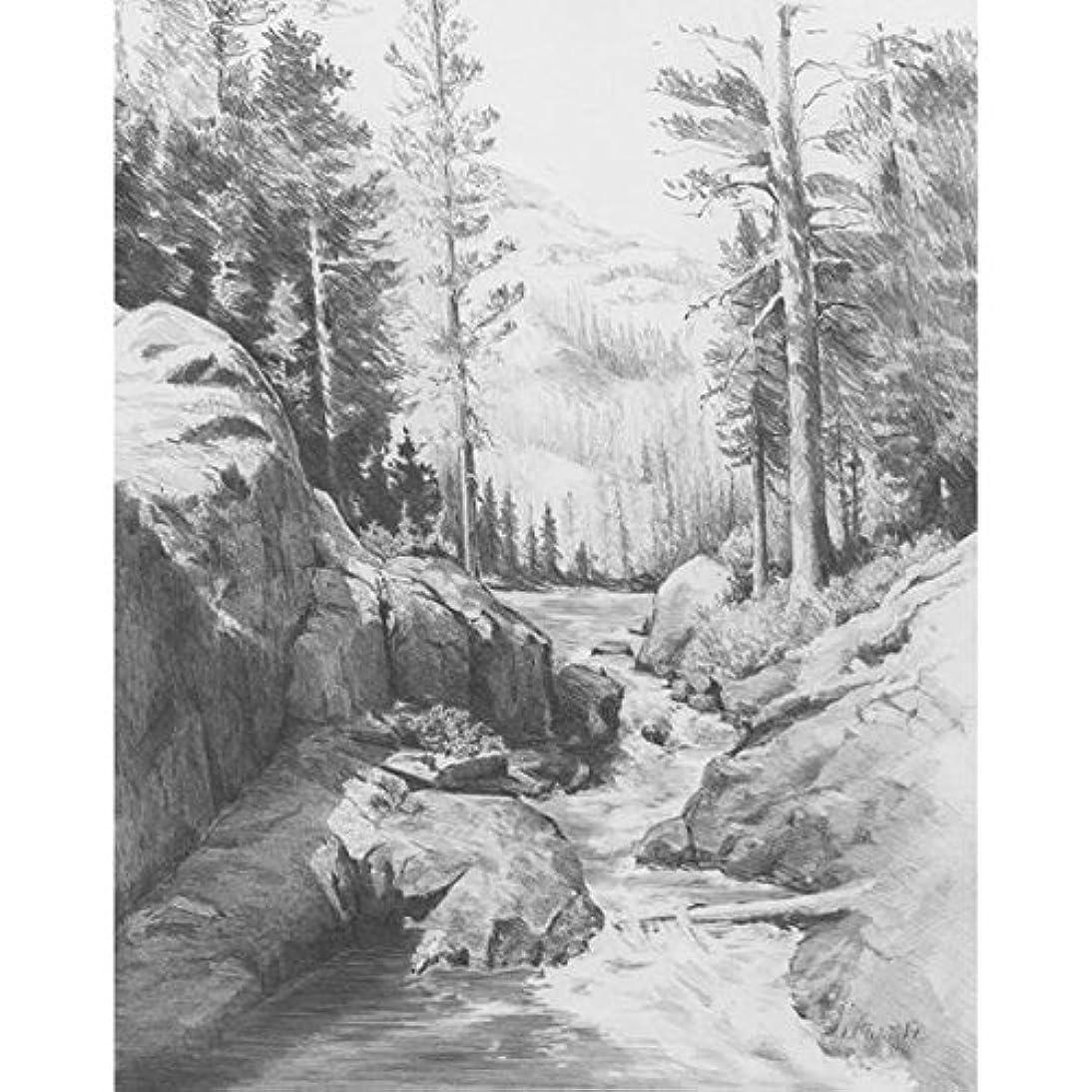 ROYAL BRUSH Sketching Made Easy Kit, 9 by 12-Inch, Shadow Lake