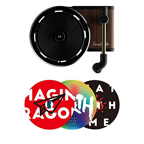 Hamkaw Auto Lufterfrischer Retro Vinyl Record Auto Air Vent Duft Diffusor Klimaanlage Outlet Parfüm Plattenspieler Dekor Auto Aroma Parfüm Diffusor Geeignet für Auto nach Hause