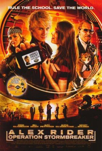 Póster de la película Alex Rider: Operation Stormbreaker (27 x 40 pulgadas – 69 cm x 102 cm) (2006)