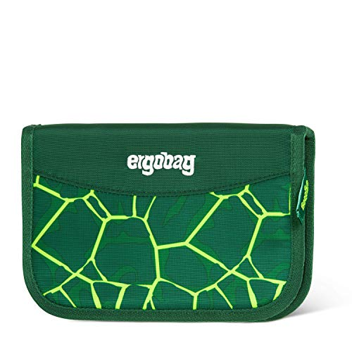 ergobag Unisex-Kinder Hard Pencil Case Münzbörse Mehrfarbig (Bearrex)