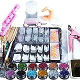 Kit completo de uñas acrílicas profesionales, kit completo de uñas...