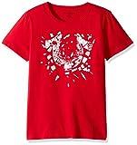 True Religion Boys' Toddler Branded Logo Tee Shirt, Shattered True Red, 2T