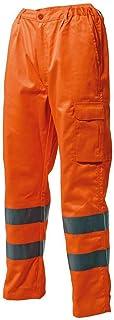 Abbigliamento LOGICA 830HVT PANTALONE ALTA VISIBILITÀ ARANCIO TASCHE PORTAOGGETTI PORTAMETRO BANDE RIFRANGENTI CLASSE2 EMERGENZA AUTO ANTINFORTUNISTICA DPI ABBIGLIAMENTO LAVORO CANTIERE STRADALE Abbigliamento specifico