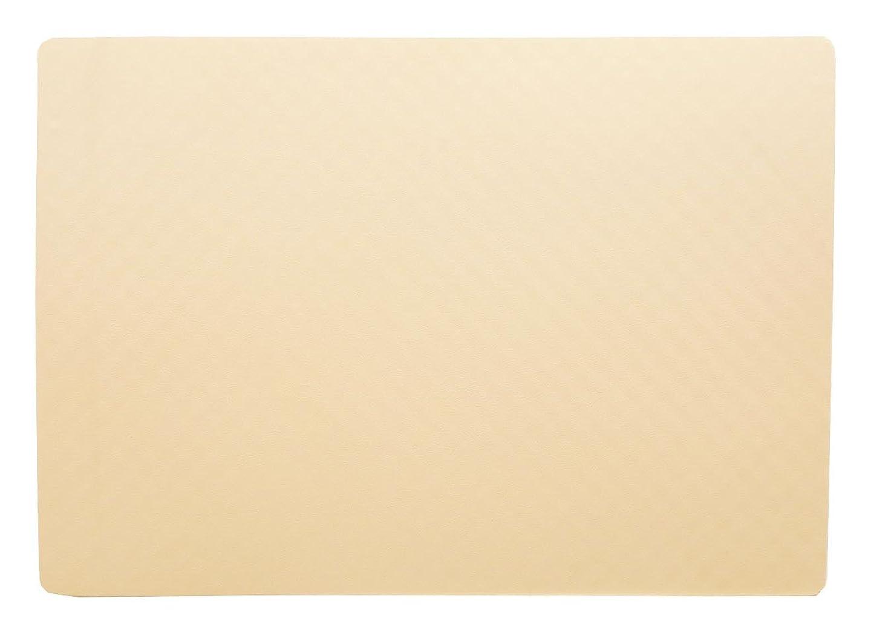 バイソンスーツ返済オーエ カラーマット レギュラー アイボリー 約60×85×1.5cm 防カビ