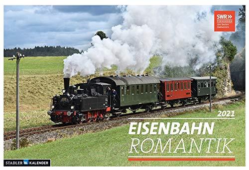 Eisenbahn-Romantik 2021: Der Kalender zur SWR Serie