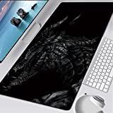 Glorious Mouse pad 3XL 39.3x19.6 inch -Large Extended Gaming Mouse Pad Mat Non-Slip Natural Rubber Base XXL Pink Desk Mat Computer Keyboard for Game Office - Fashion Cool Game Character
