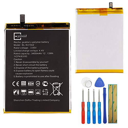 New Replacement Battery BL-N3150Z Compatible with BLU VIVO XL2 V0070UU VIVO 5R V0090UU with Tools