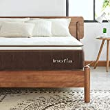 Single Mattress, <span class='highlight'>Inofia</span> 7Zone Memory Foam and Spring Mattress, AIRMAX Comfort Foam Rolled Mattress, Saddlebrown Collection, 100Night Risk-free Home Trial,25cm Height