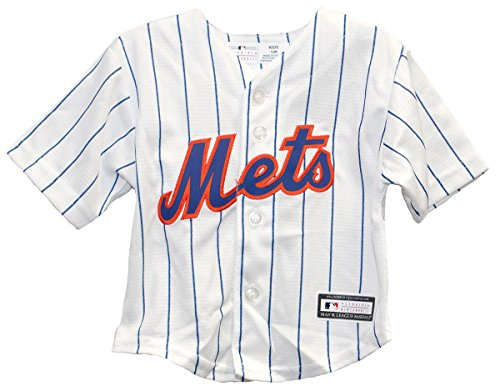 Outerstuff New York Mets Infant Cool Base Home Jersey (18 Months)