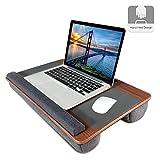 Lap Desk, Kavalan Laptop Desk with Mouse & Wrist Pad, Right & Left Handed Design, Fit up to 17.3 inch Laptop, MacBook, Tablet