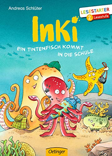 Inki: Ein Tintenfisch kommt in die Schule (Lesestarter)