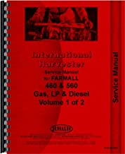Farmall 460 Tractor Service Manual (1958-1963) (Utility, Row Crop, High Crop and Standard)