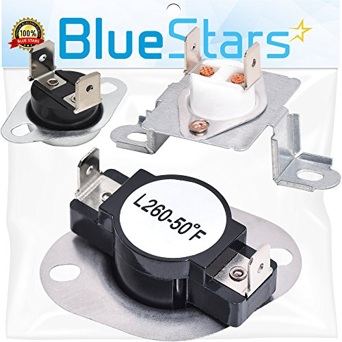 DC96-00887A & DC47-00016A & DC47-00018A Dryer Thermal Fuse and Thermostat Kit Replacement by Blue Stars - Exact Fit For Samsung & Kenmore Dryers