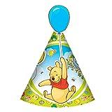 'Winnie the Pooh Piglet Die Cut Party Hats, pack of 6 [Toy]'