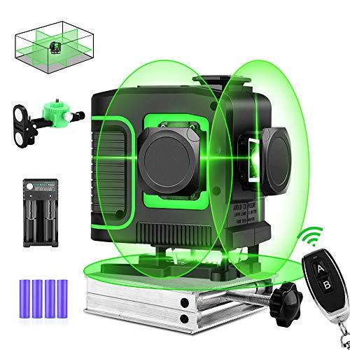 Seesii 3D Green Beam Laser Level