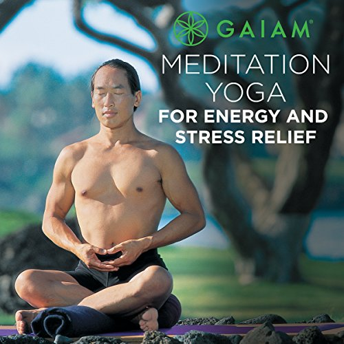 Meditation Yoga for Energy and Stress Relief Audiobook By Rodney Yee cover art